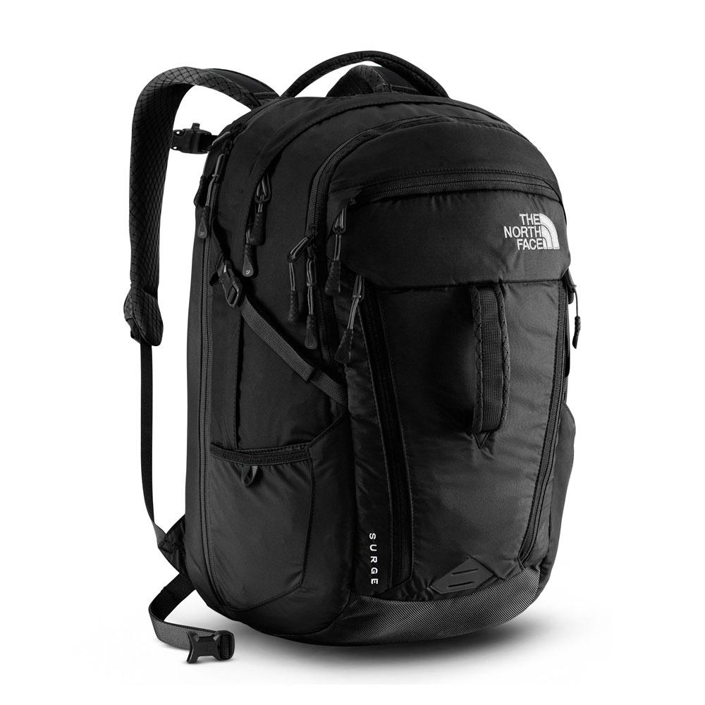 North Face Women's Surge Black Backpack