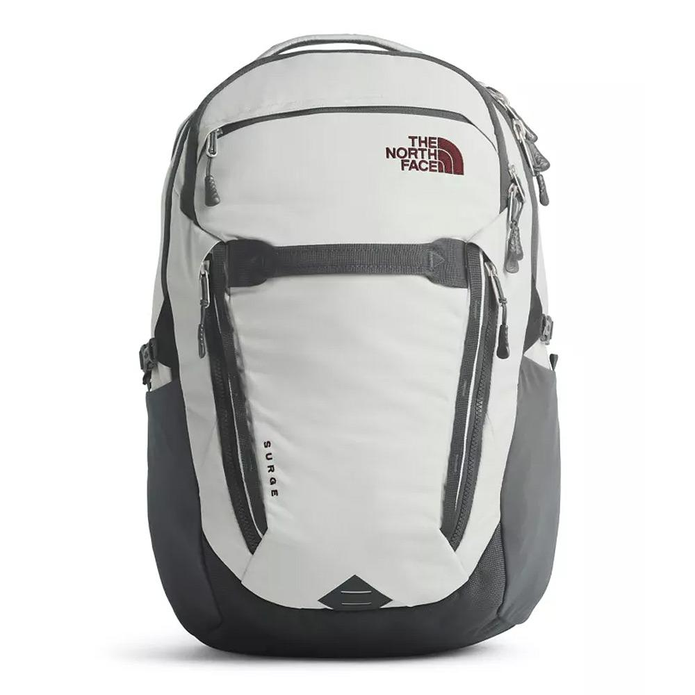 North Face Women's Surge Tin Grey/Asphalt Grey Backpack Front