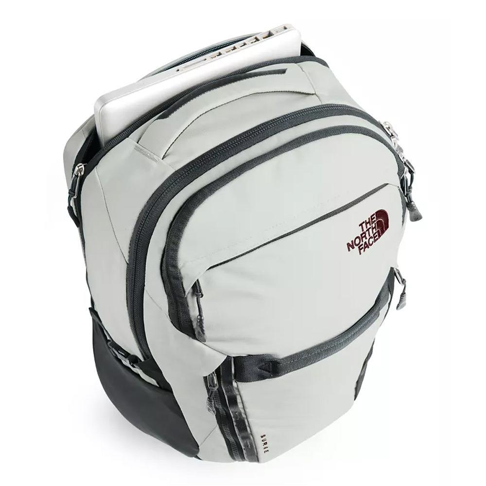 North Face Women's Surge Tin Grey/Asphalt Grey Backpack Top