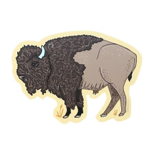 Noteworthy Bison Sticker