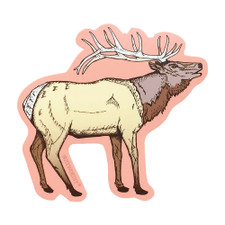 Noteworthy Elk Sticker
