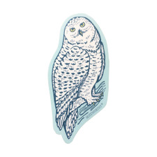 Noteworthy Snowy Owl Sticker