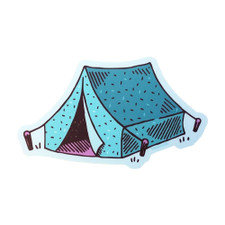 Noteworthy Tent Sticker