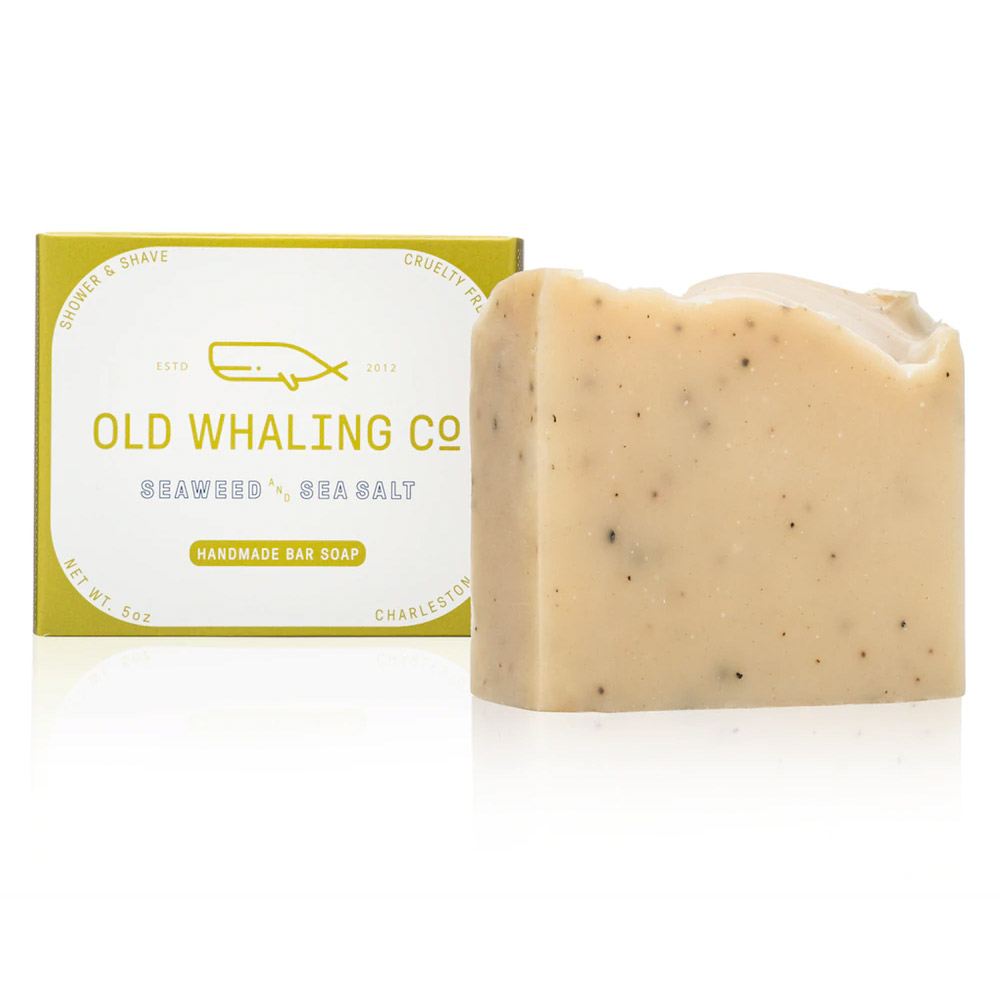 Old Whaling Company Seaweed and Sea Salt Soap