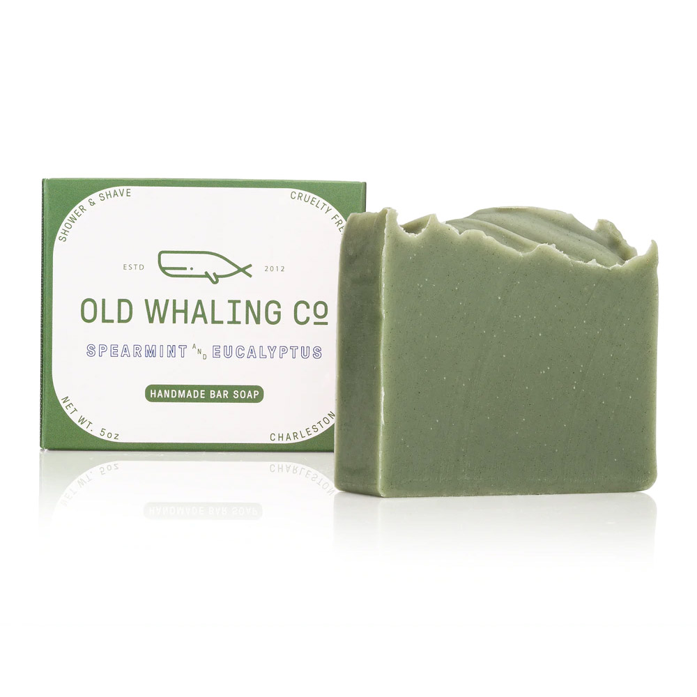 Old Whaling Company Spearmint and Eucalyptus Soap