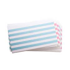 "Oxford Assorted Color Bar 3""x5"" Ruled Index Cards 100ct"