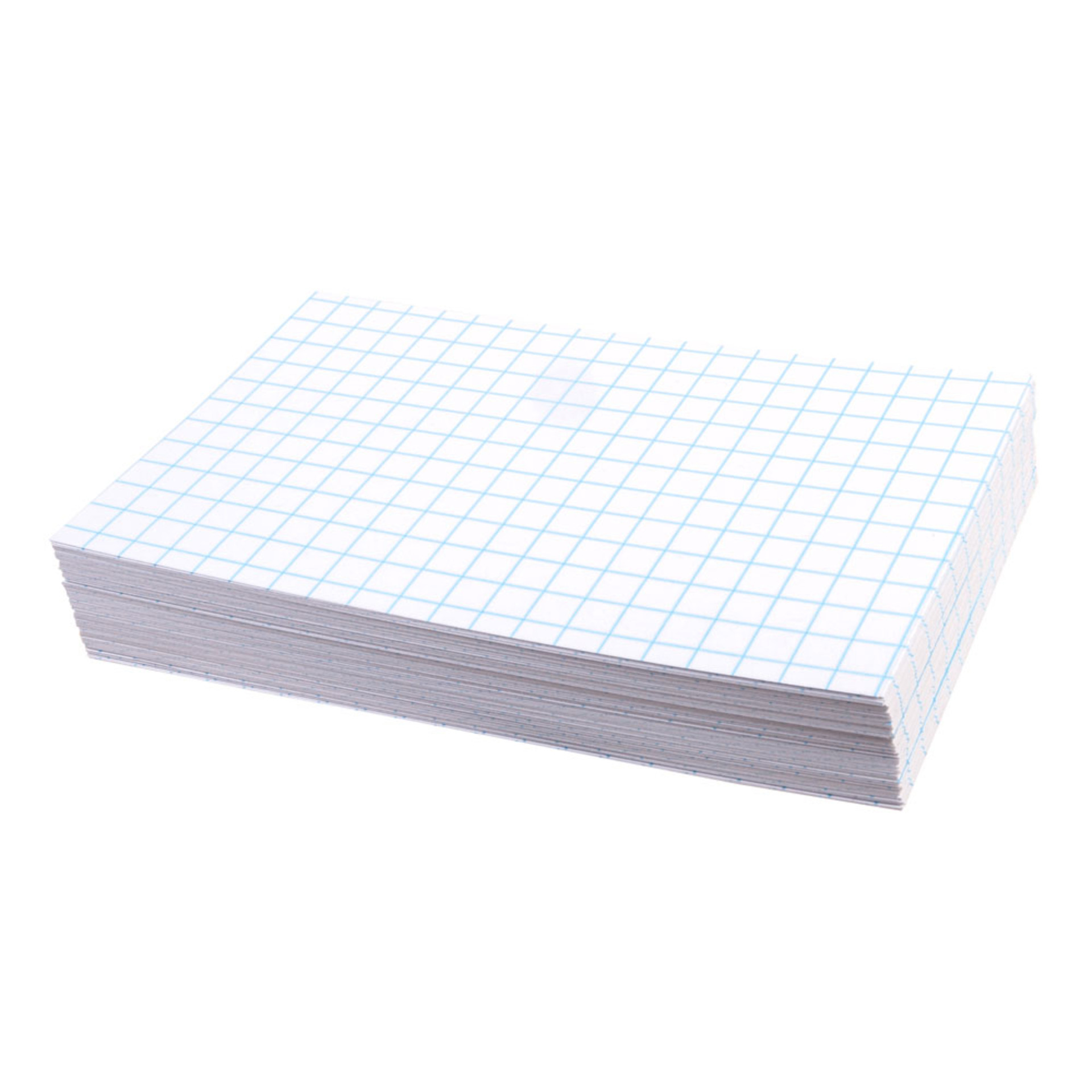 """Oxford White 3""""x5"""" Grid Index Cards 100 Count"""
