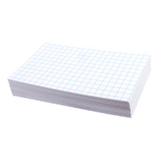 "Oxford White 3""x5"" Grid Index Cards 100 Count"