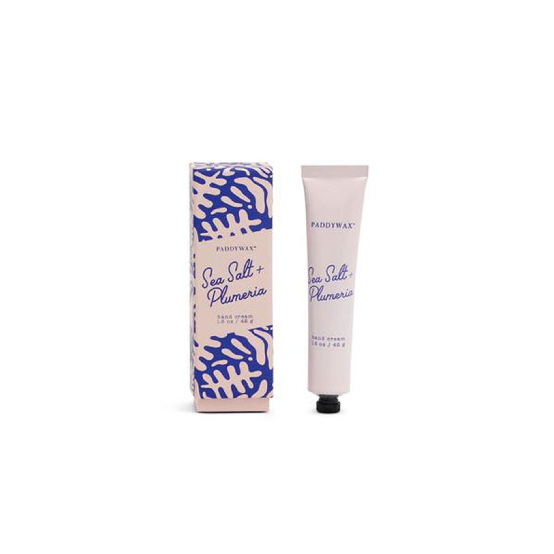 Paddywax Sea Salt Plumeria Hand Cream