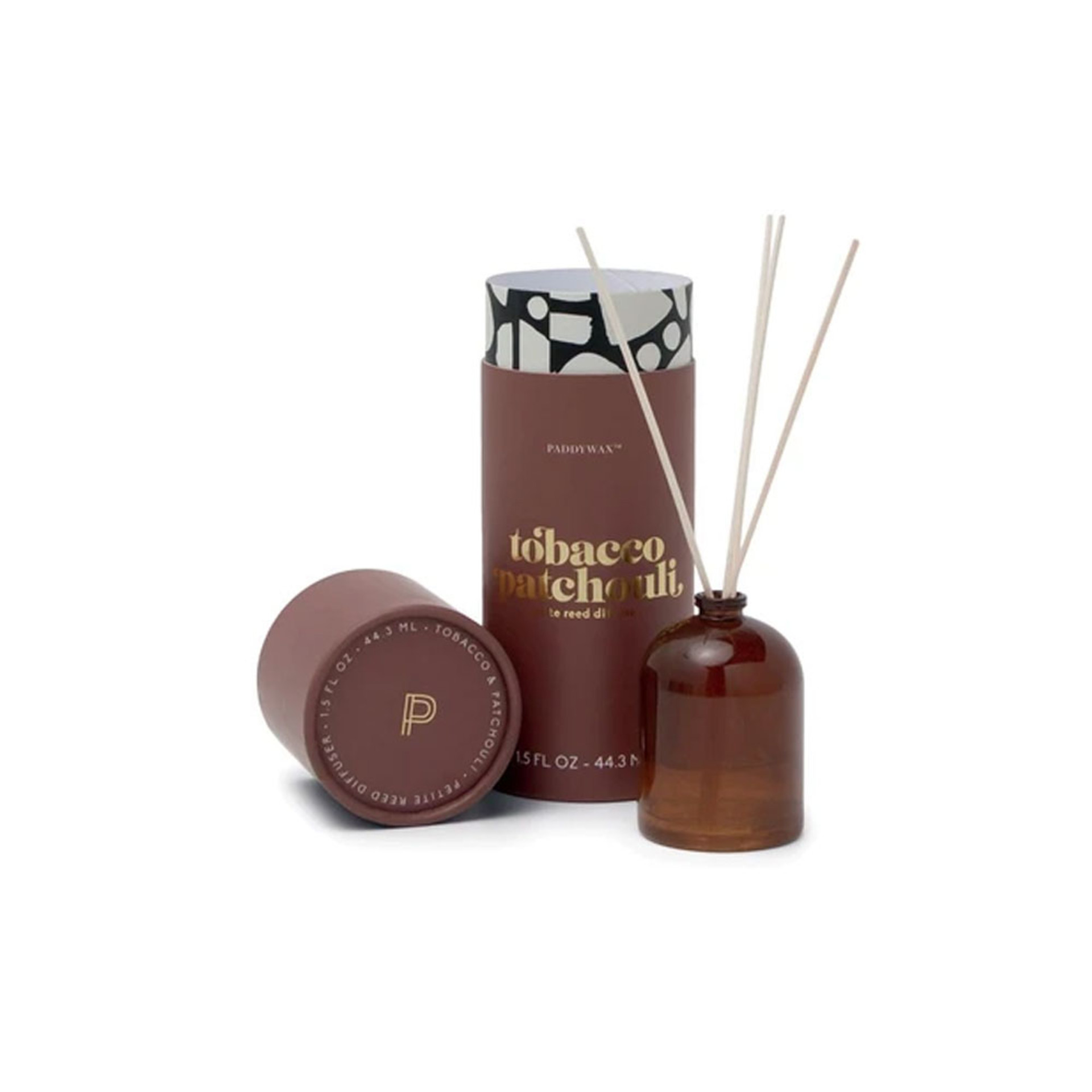 Paddywax Tobacco Patchouli Petite Diffuser