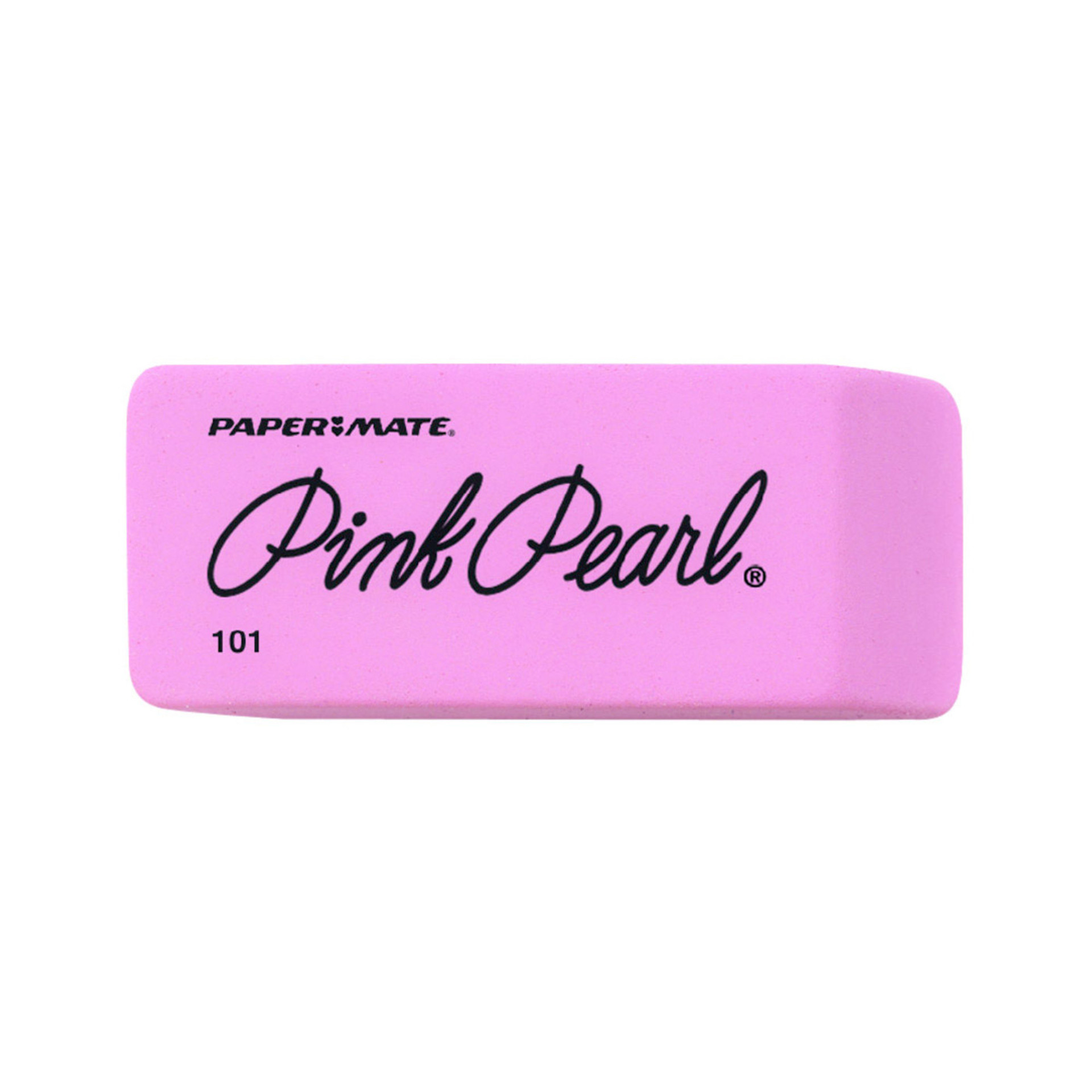 Paper Mate Pink Pearl Rubber Eraser
