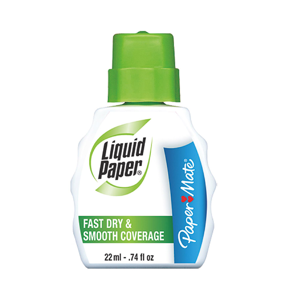 Paper Mate White Fast Dry Correction Liquid Paper