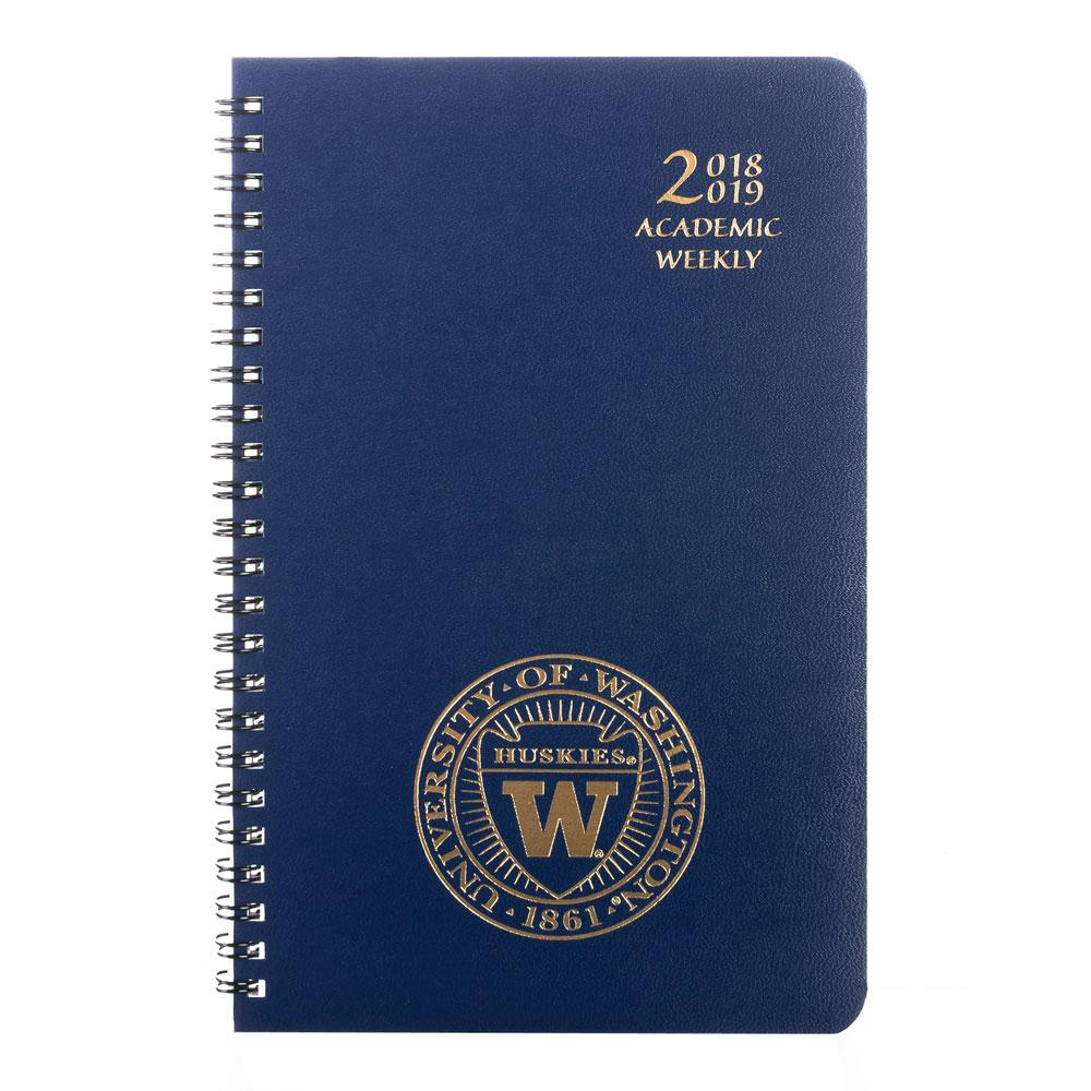 "Payne 2019-2020 Academic Weekly 5.5""x8.5"" Planner Blue"
