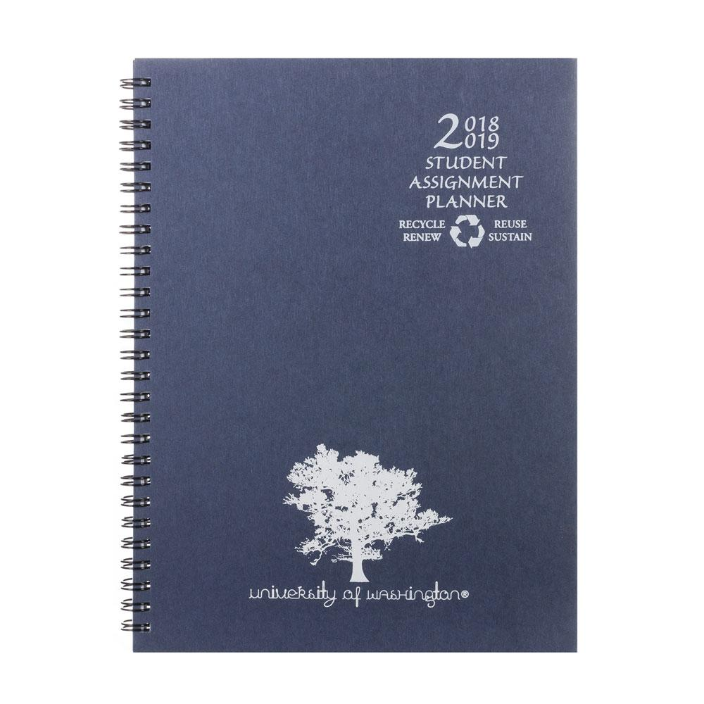 "Payne 2019-2020 Academic 7""x9.5"" Assignment Book Blue"