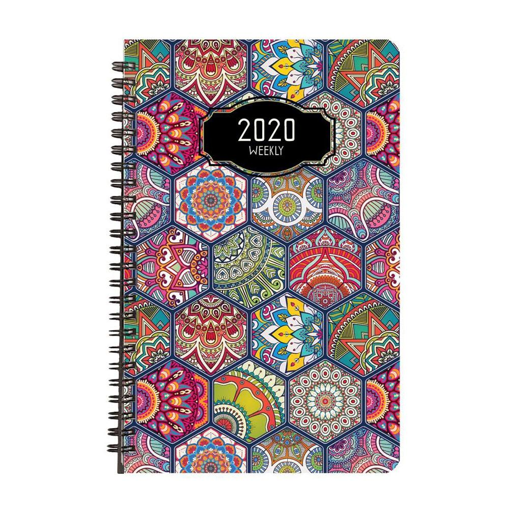 Payne 2020 Deco Weekly Planner 5.5x8.5in. Wire Bound