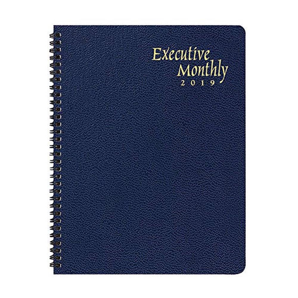 Payne 2020 Deluxe Executive Monthly Planner 9x11in. Spiral