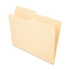 Pendaflex Manila Letter File Folder 1/2 Cut 100-count