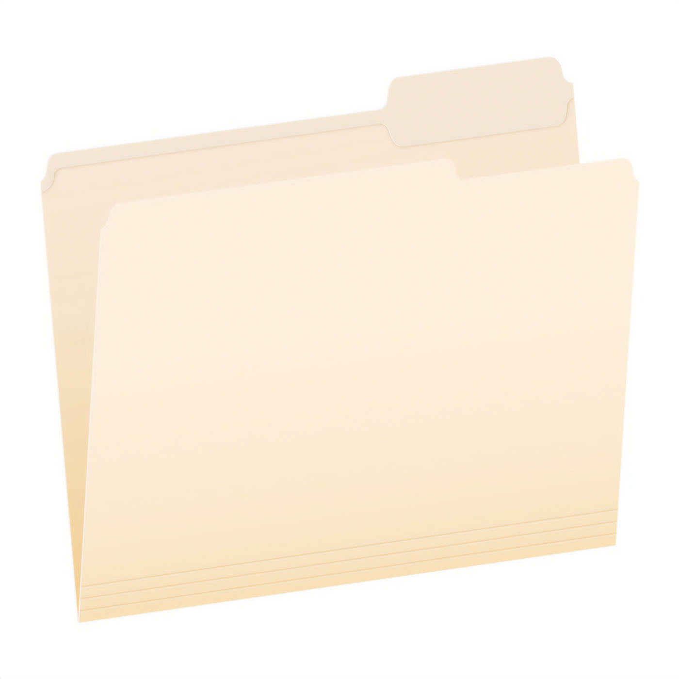 Pendaflex Manila Letter File Folder 1/3 Cut 100-count