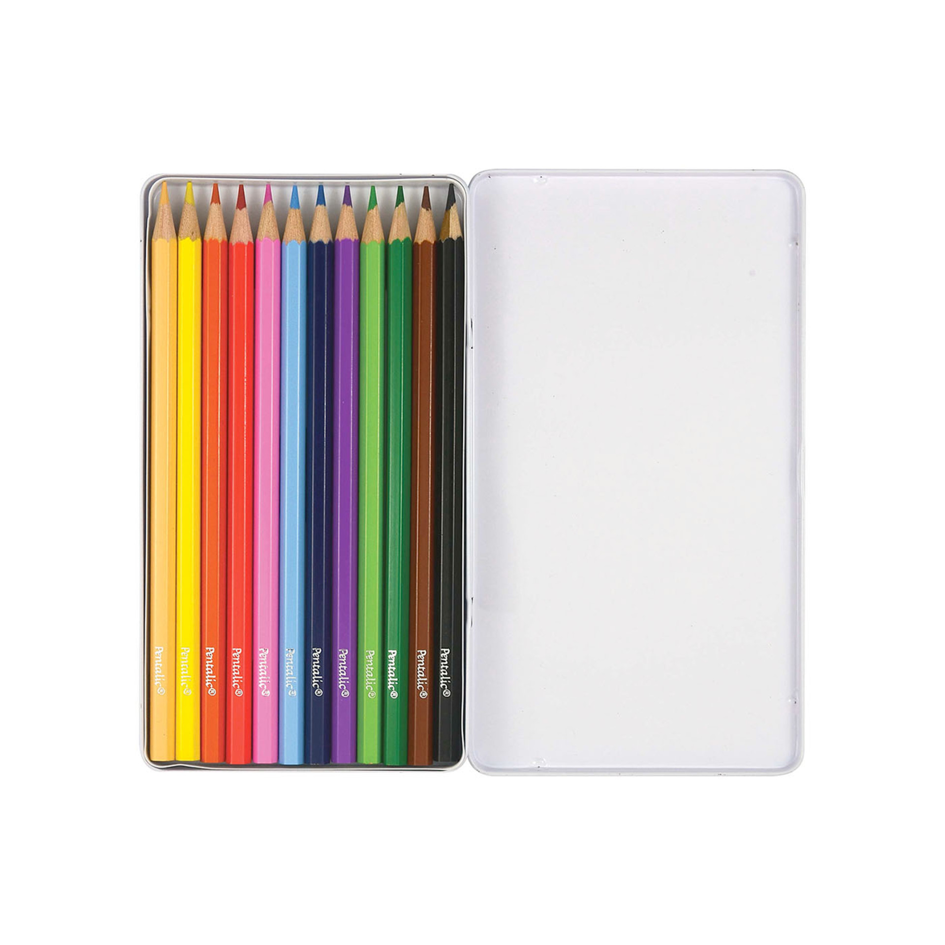 Pentalic Colored Pencil Set 24