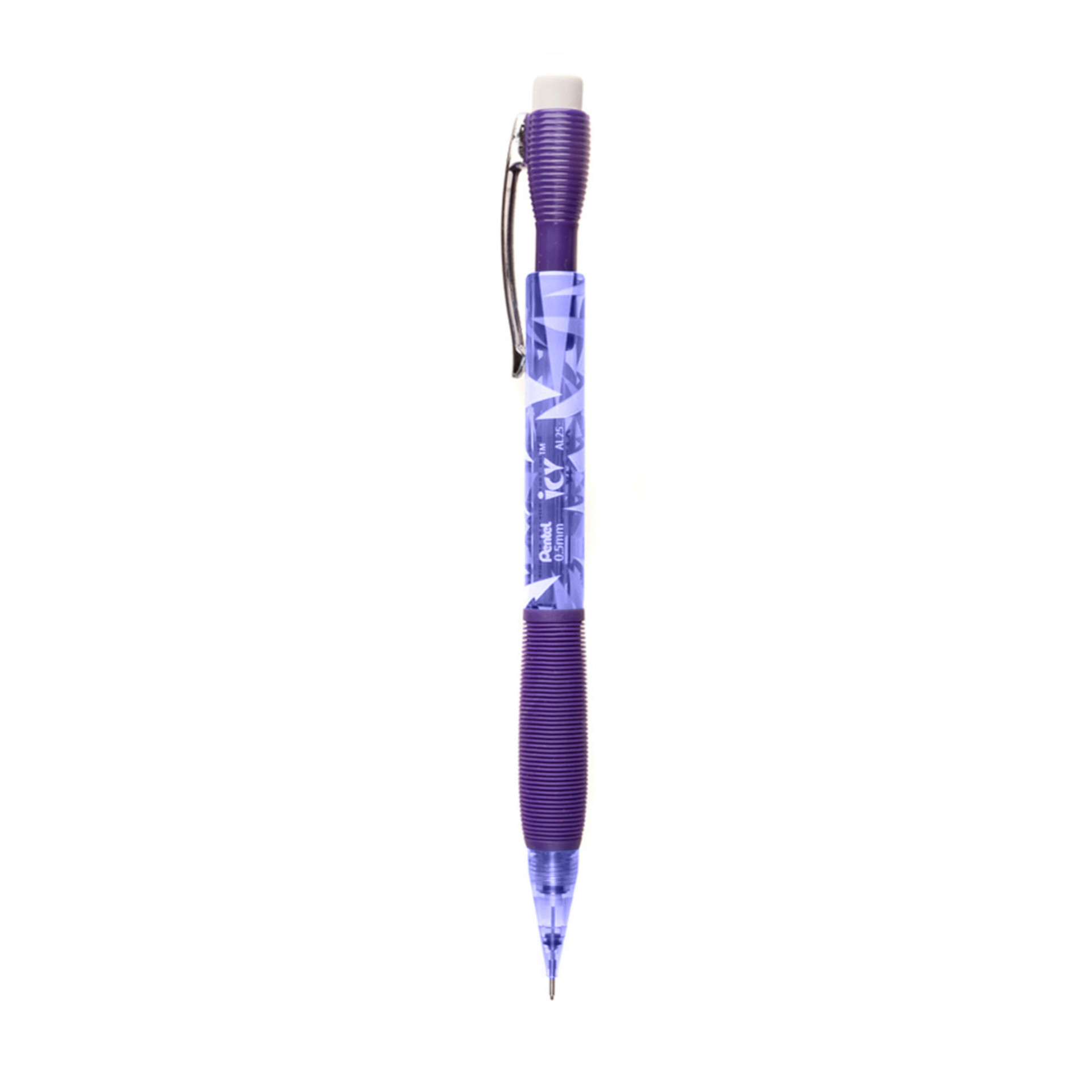Pentel Icy Mechanical Pencil 0.5mm Violet Side
