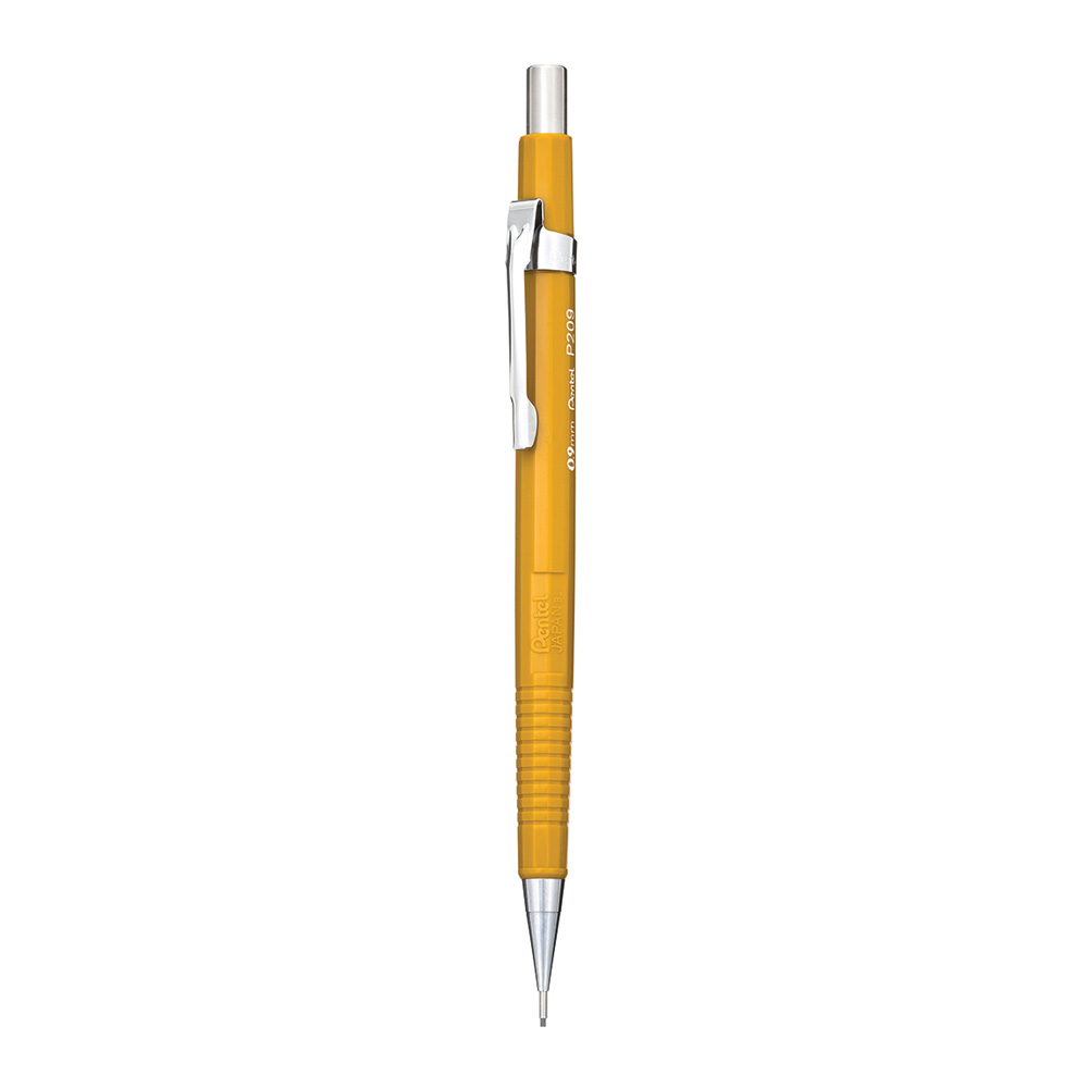 Pentel Sharp Mechanical Pencil Yellow 0.9 Millimeters