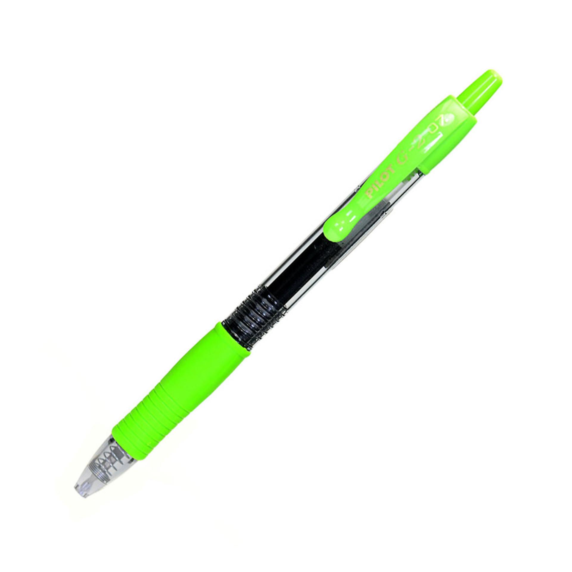Pilot G2-7 Fine Point .7mm Retractable Gel Pen – Lime
