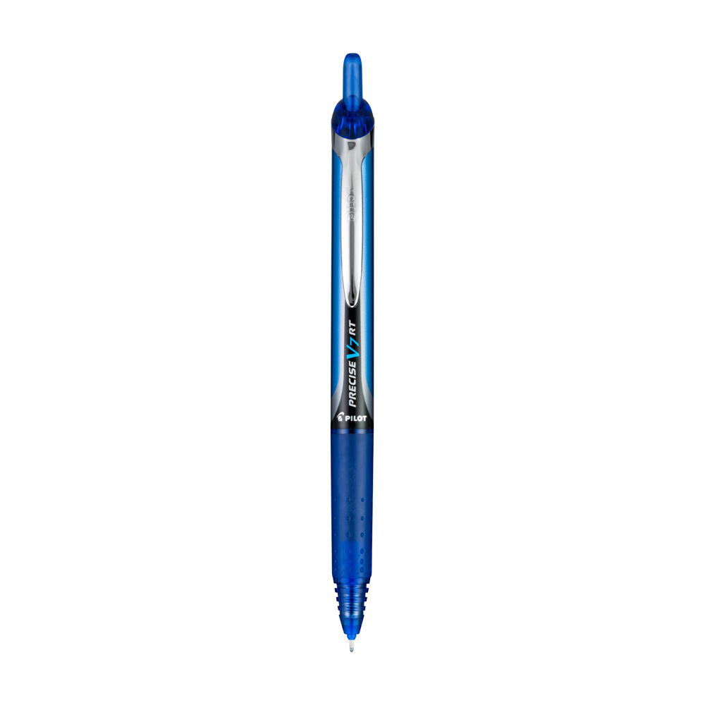 Pilot Precise V7 .7mm Retractable Rollerball Pen – Blue