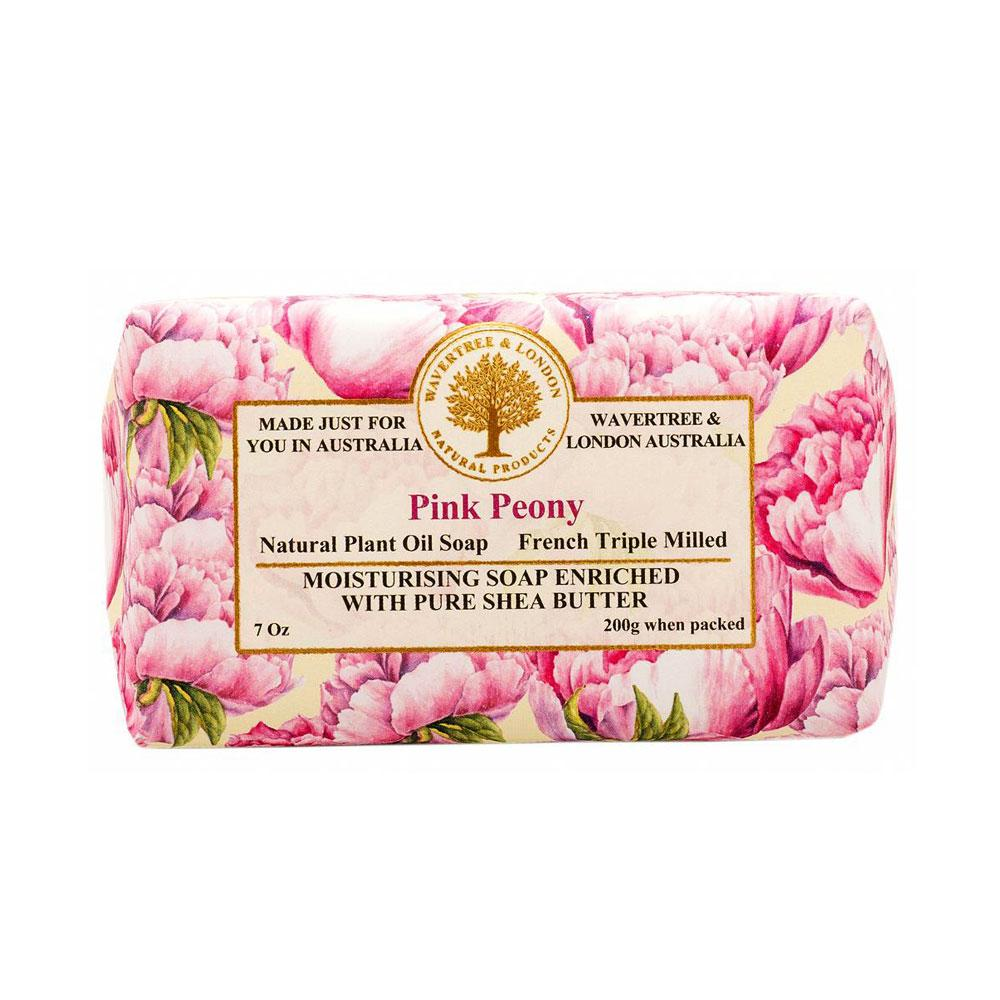 Pink Peony Bar Soap