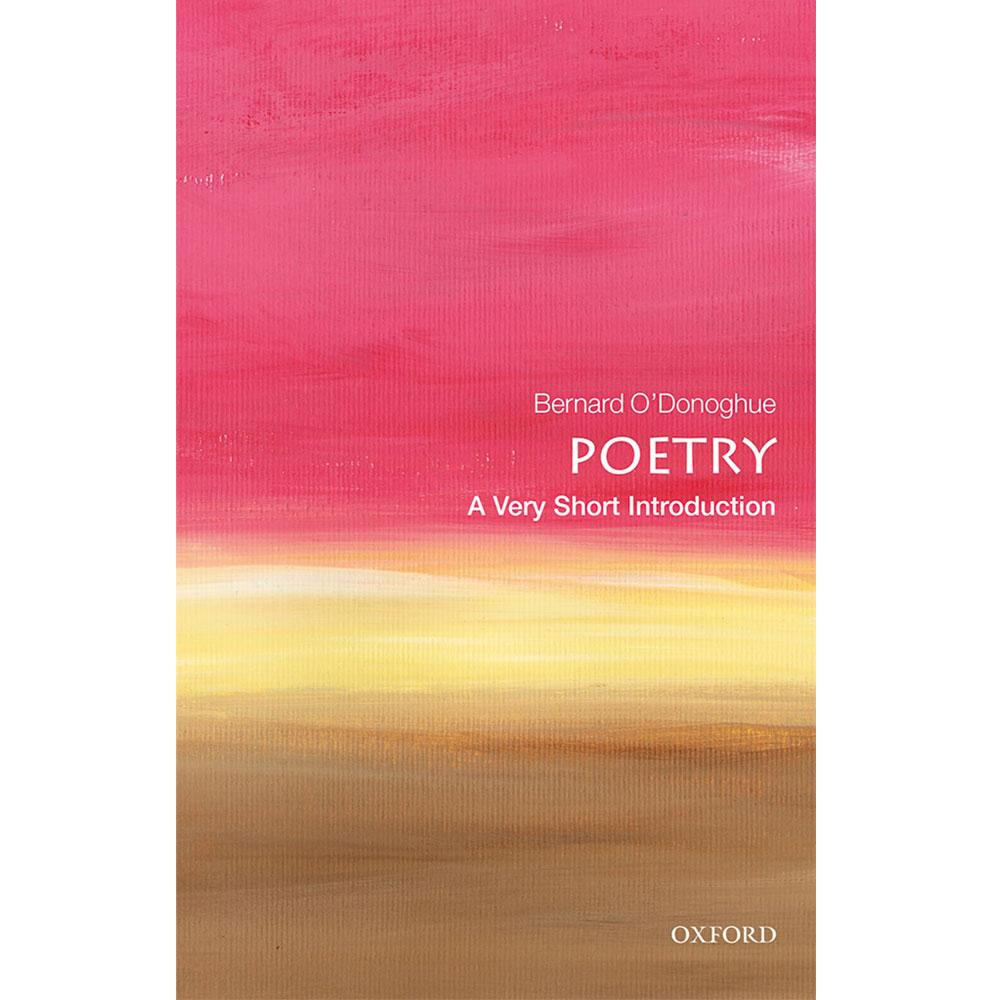 Poetry: A Very Short Introduction by Bernard O'Donoghue