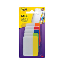 """Post-it Rio Collection 2.0""""x1.5"""" Tabs 30 Pack"""