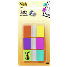 Post-it Six Electric Glow Colors Flags 60 Pack