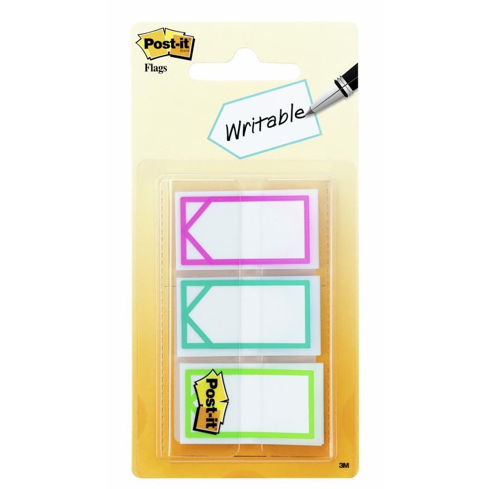 Post-it Three Bright Colors Arrow Memo Flags