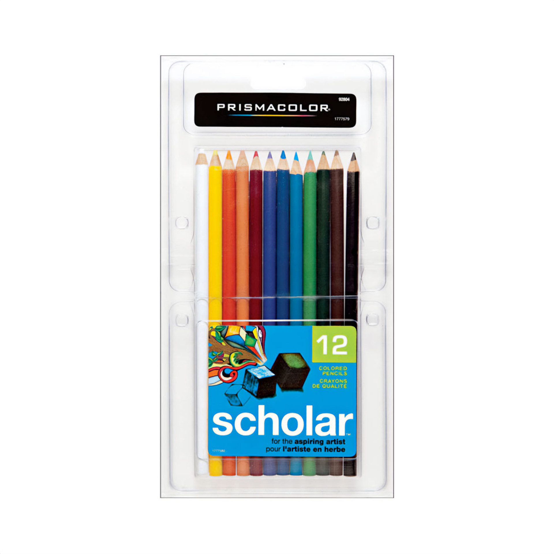 Prismacolor Scholar Colored Pencil Set 12