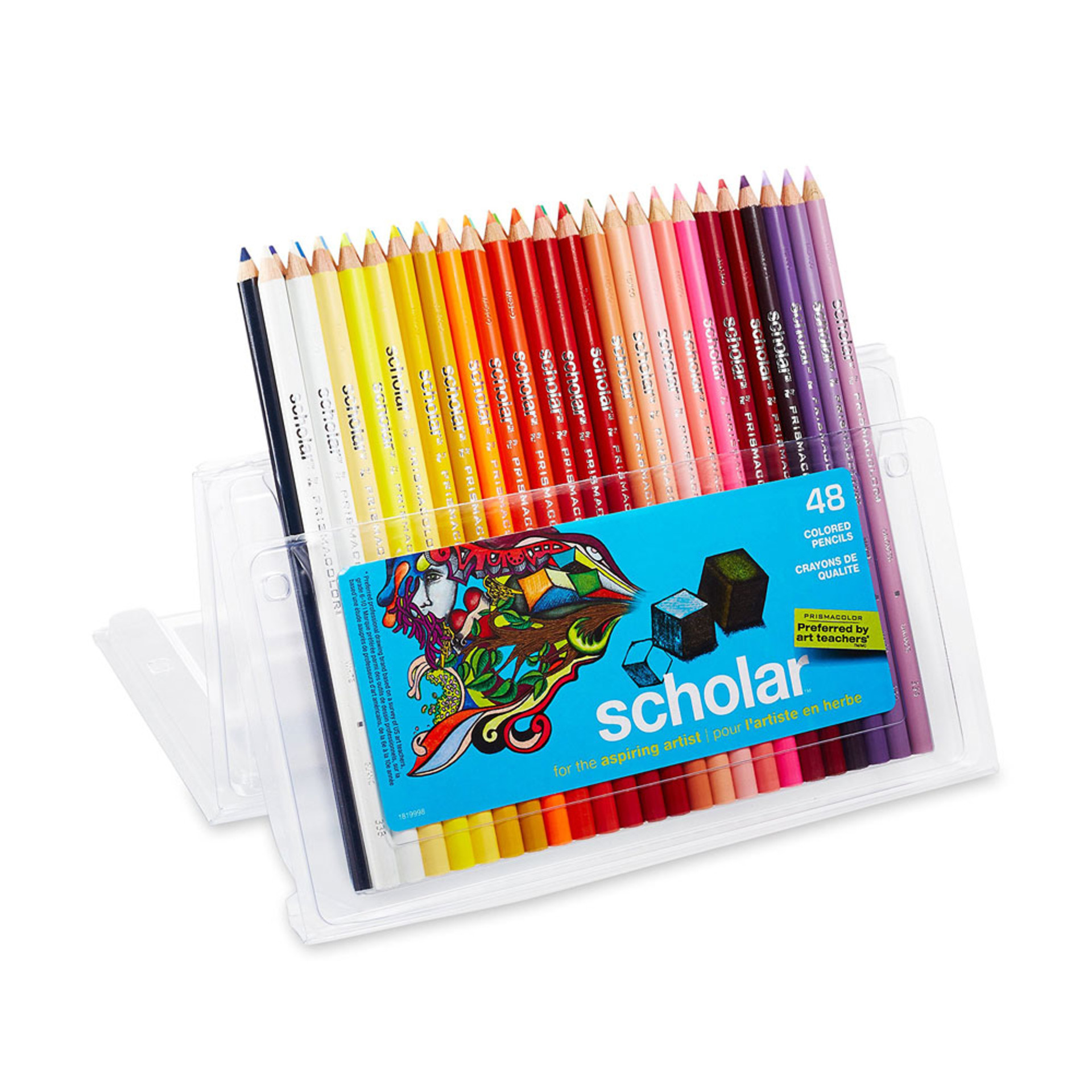 Prismacolor Scholar Colored Pencil Set 48