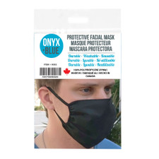 Protective Reusable Face Mask by Onyx + Blue