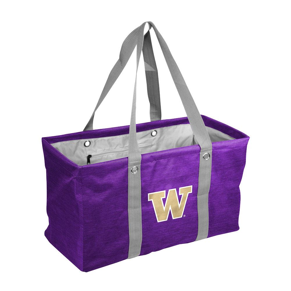 Logo Purple W Collapsible Picnic Caddy