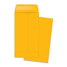 "Quality Park Kraft #7 3.5""x6.5"" Gummed Coin Envelope"