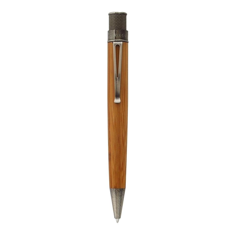 Retro 1951 Tornado Deluxe Bamboo Rollerball Pen Front