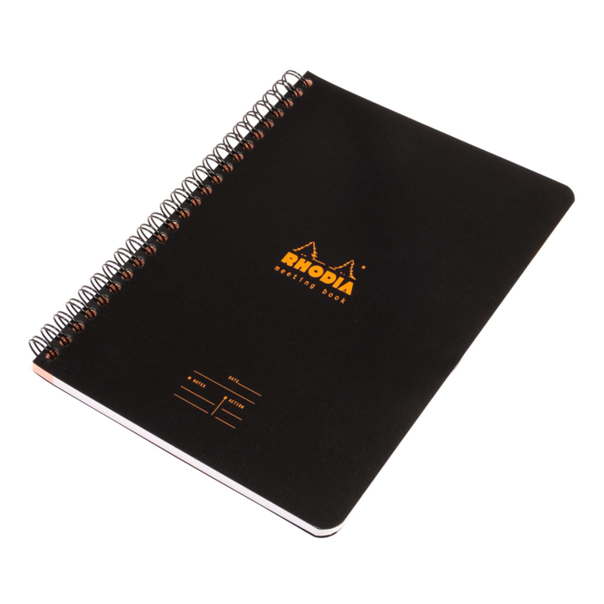 Rhodia Meeting Book Wirebound Notebook