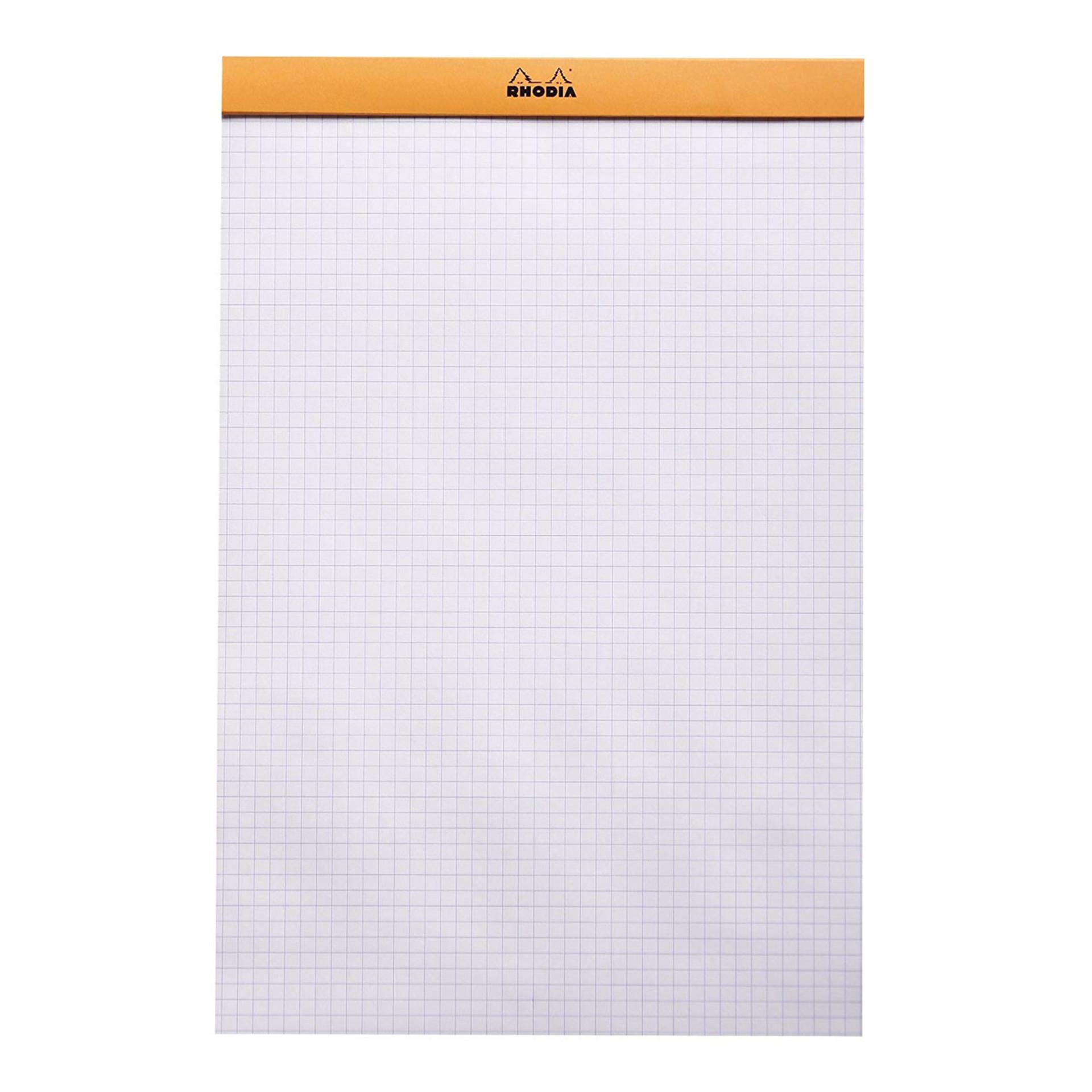 Rhodia 5x5 Quad Graph Notepad Paper