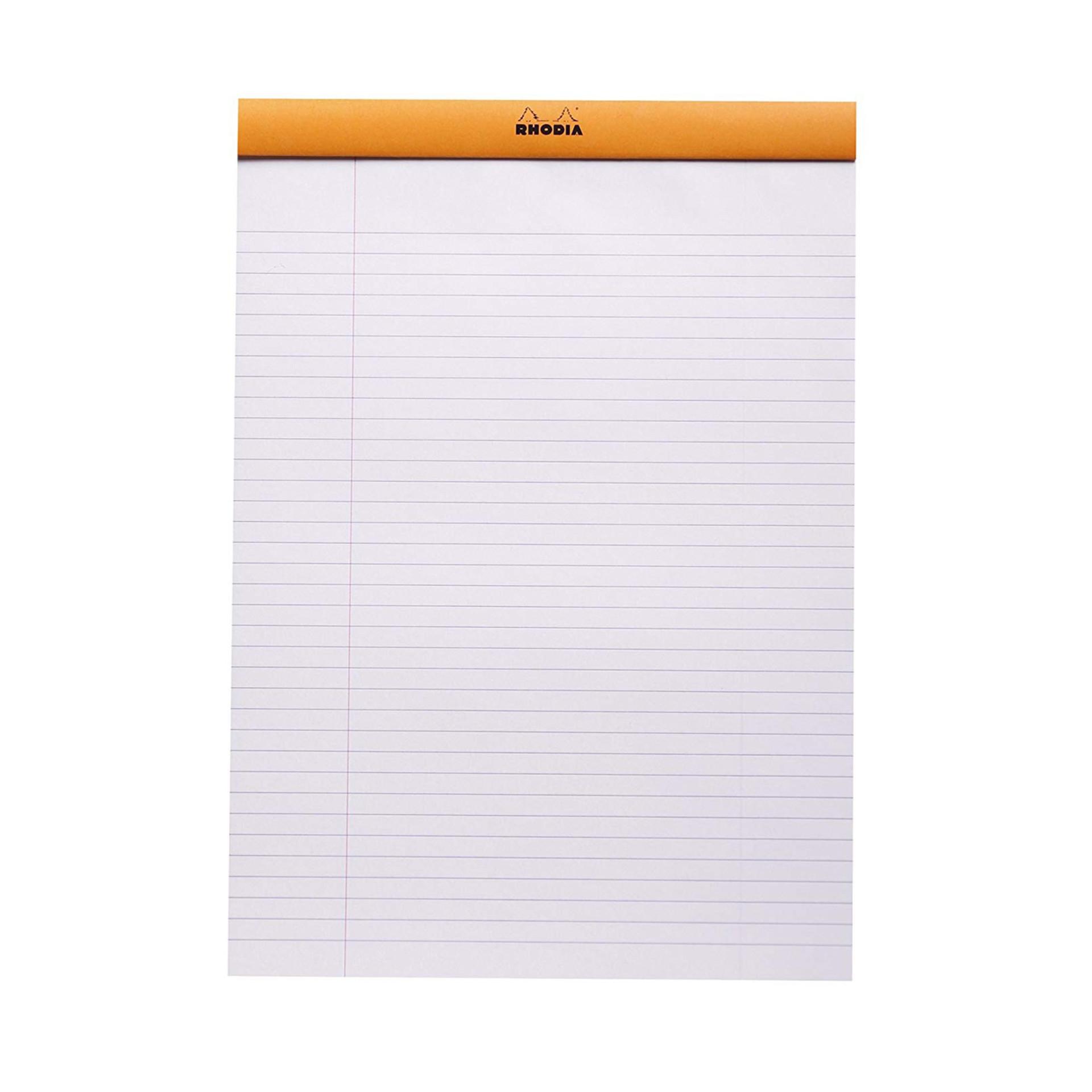 "Rhodia Notepad 81/4""x113/4"" Paper"