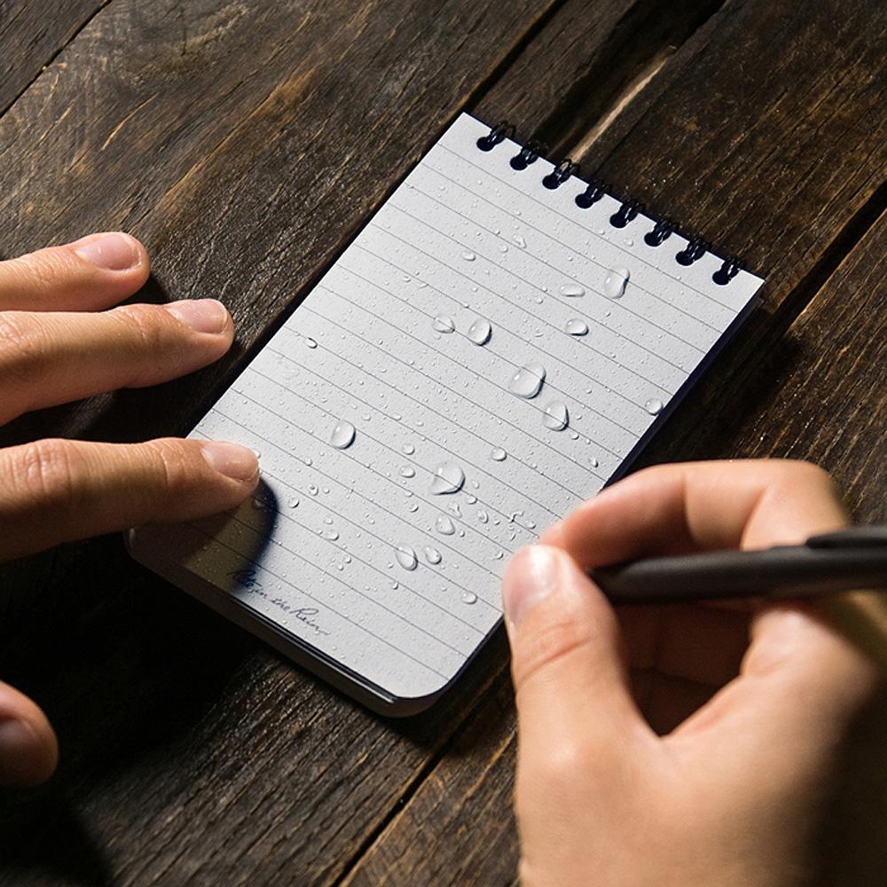 Rite in the Rain Spiral Notebook Black