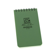 Rite in the Rain Memo Notebook Spiral Green