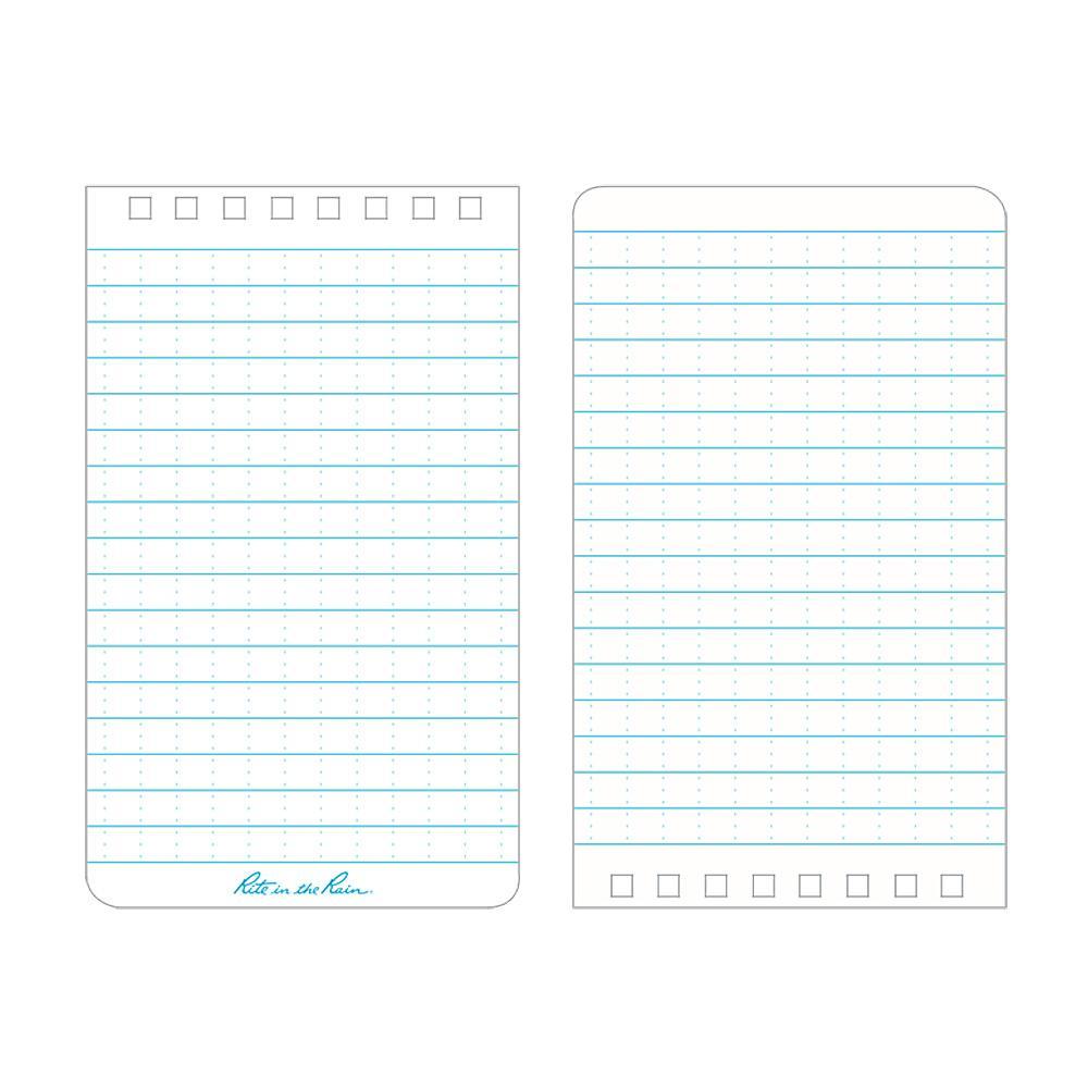 "Rite in the Rain Yellow 3""x5"" Memo Notebook Paper"