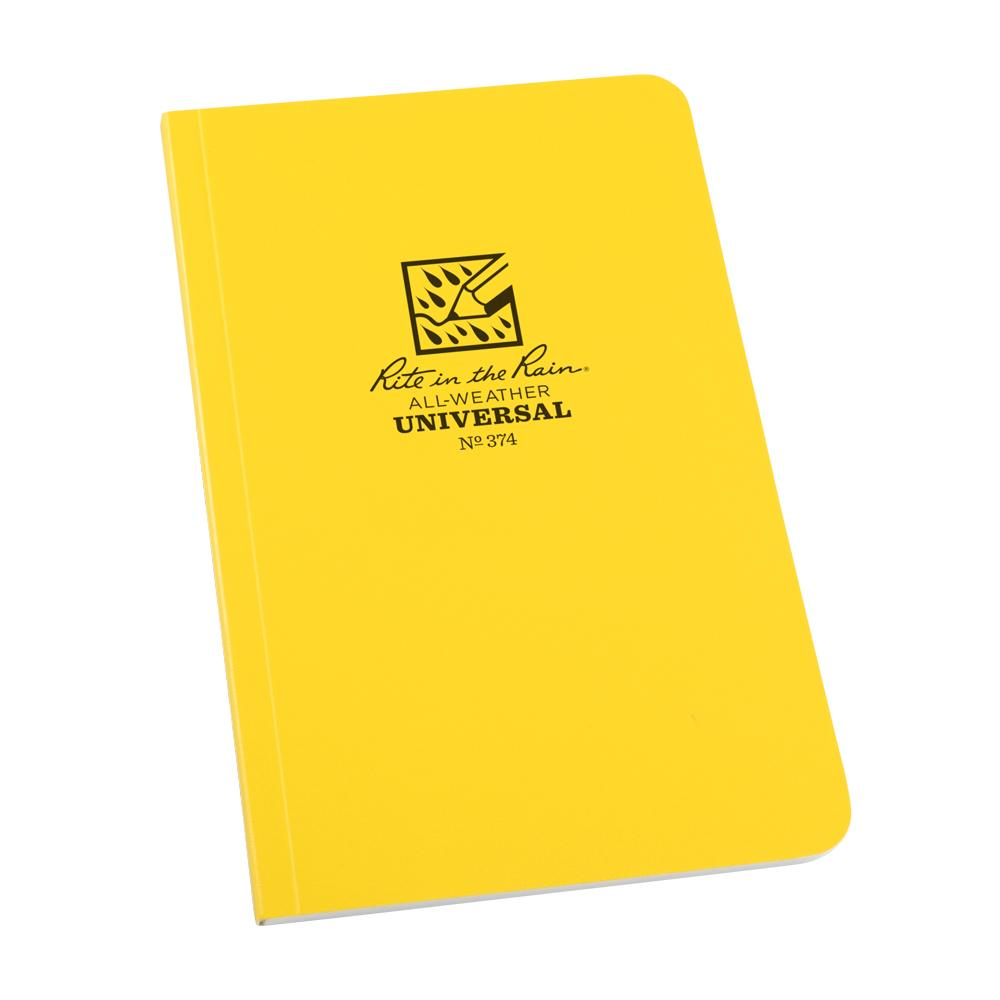 "Rite in the Rain Yellow 4-1/4""x7-1/4"" Field Perfect Notebook"