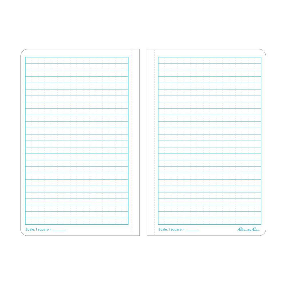 """Rite in the Rain 41/4""""x71/4"""" Notebook Paper"""