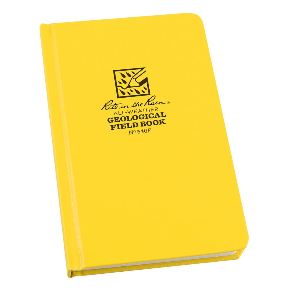 "Rite in the Rain Yellow 4-3/4""x7-1/2"" Geology Field Notebook"