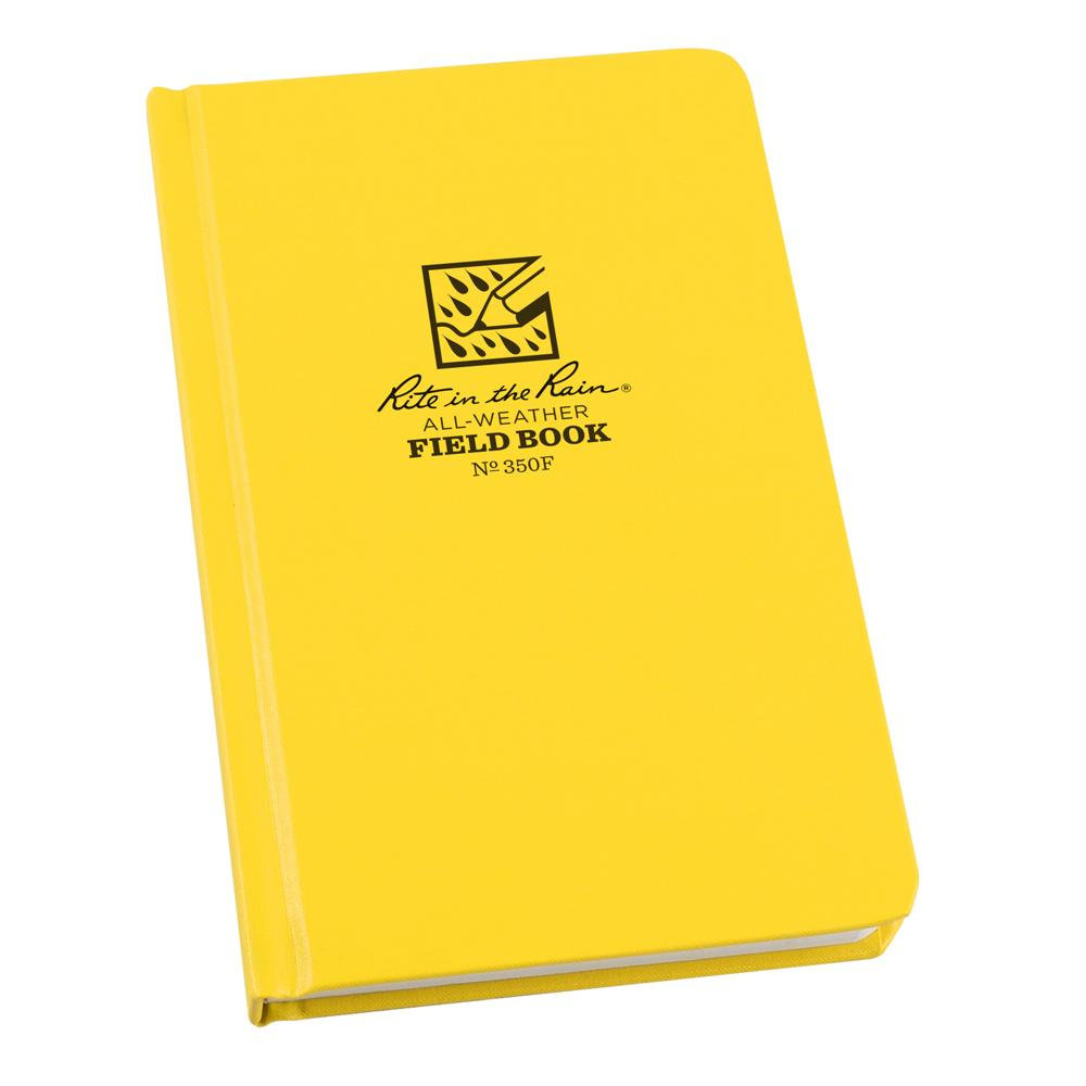 "Rite in the Rain Yellow 4-3/8""x7-1/4"" Field Notebook 80ct"