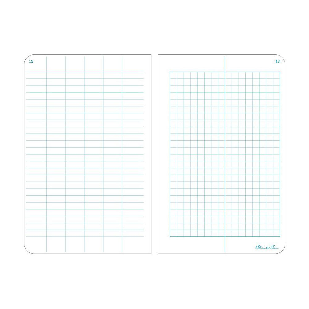 Rite in the Rain Field Notebook Sheet