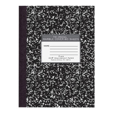 Roaring Spring Marble Plain Heavyweight Composition Book